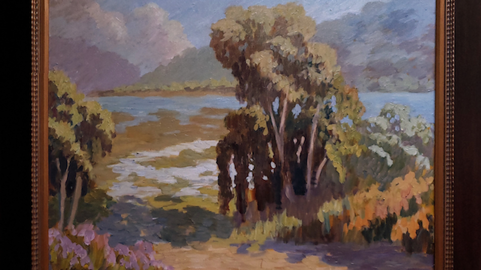 Batiquitos Lagoon in early Afternoon Light SOLD