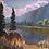 Thumbnail: Clark Fork in Morning Light SOLD