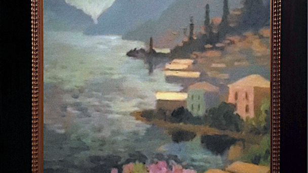 Lake Como In Early Evening Light SOLD