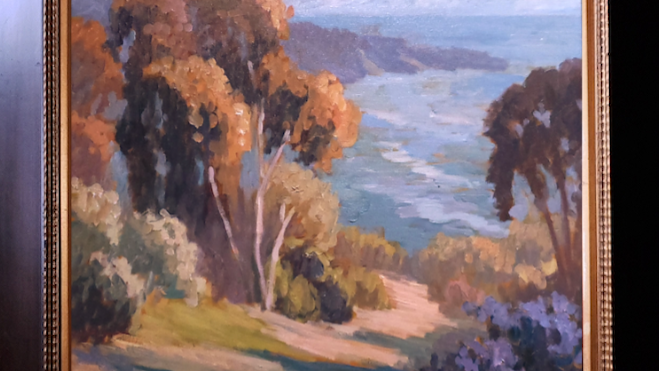La Jolla Bay in Late Afternoon Haze SOLD