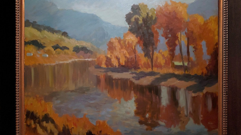 Clark Fork in Fall