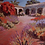 Thumbnail: Mission Courtyard in Morning Light SOLD