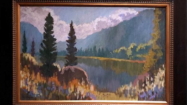 Clark Fork in Morning Light SOLD