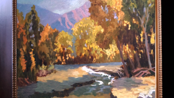 Whitewater Canyon in Early Afternoon Light SOLD