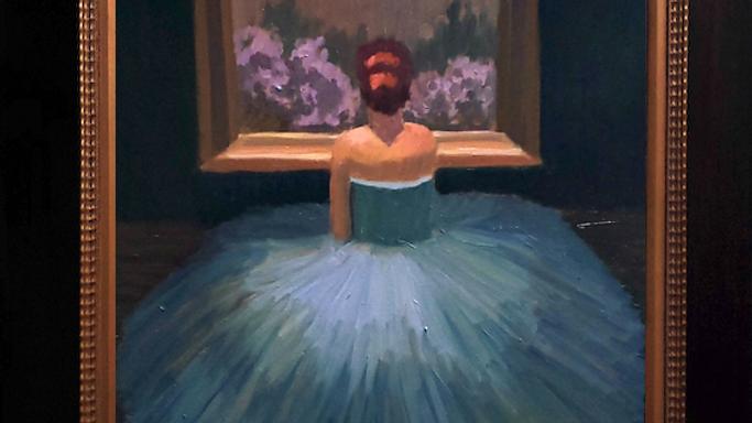 Christa Ballet Blue