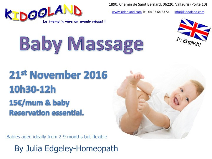 Baby Massage KidooLand