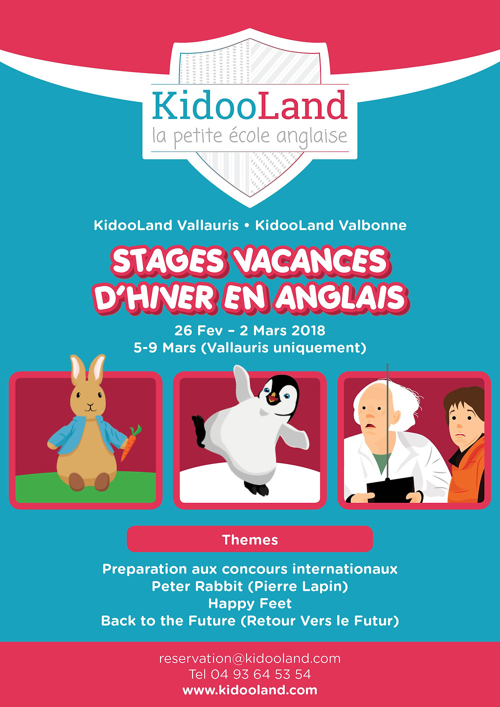 Stages Vacances Hiver