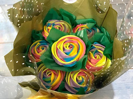 Colour Combinations for Cupcake Bouquets