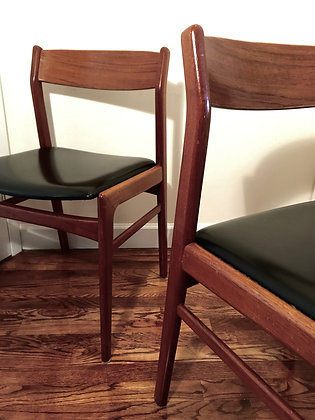 PAIR OF VINTAGE FOLKE OHLSSON CHAIRS