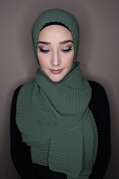 CHIC PLEAT HIJAB