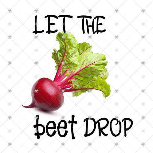 Let the beat drop hand towel