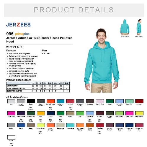 Custom hoodie (adult)