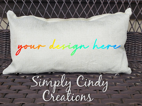 12x18 throw pillow custom