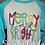 Thumbnail: Merry & Bright raglan (adult)