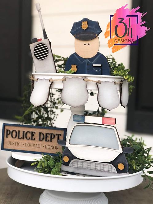 First responder/LEO tiered tray DIY kit