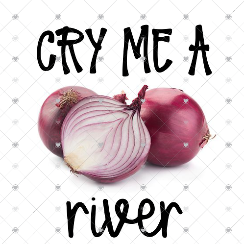 Cry me a river hand towel