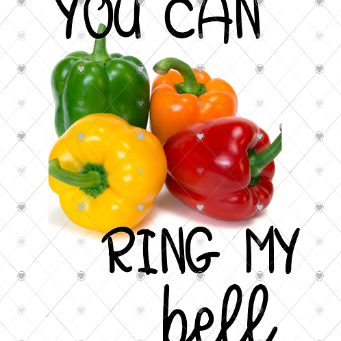 You can ring my bell  hand towel