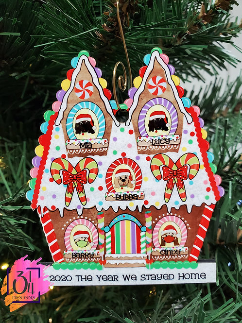 2020 Commerative Gingerbread House ornament