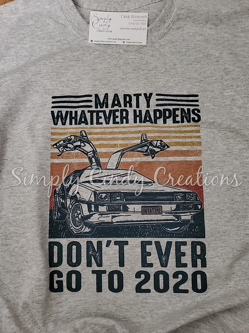 Marty McFly (adult tee)