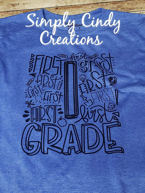 Back to School typography-grades (adult)