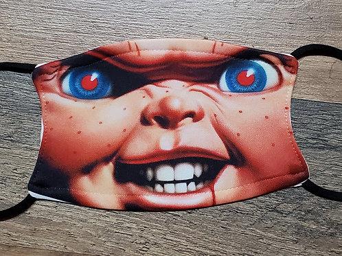 Chucky face mask