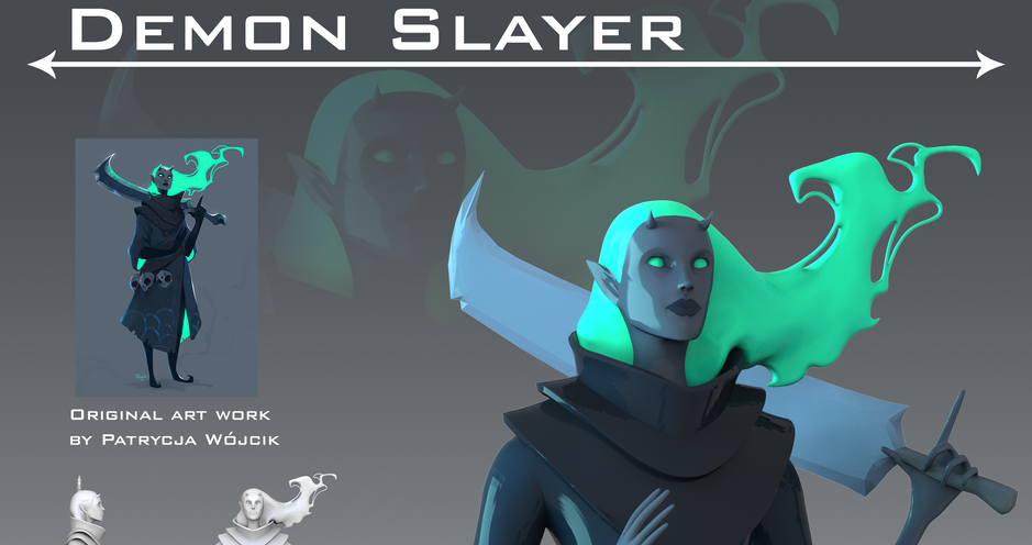ZBrush Sculpting Project
