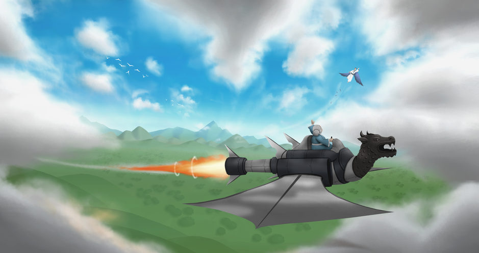 Howl's Moving Castle Redisgn 2