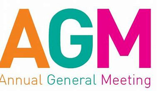 Virtual AGM Meeting - 11th December 7pm - Via Zoom