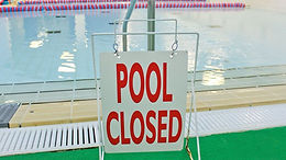 Suspension of all Swimming from November 5th.