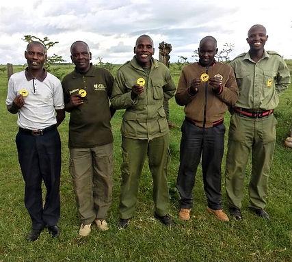 Lewa Lion Rangers Unit.
