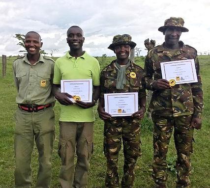 Sosian Lion Rangers Unit.