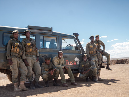 The Laikipia Lion Rangers take part in the Wildlife Ranger Challenge!