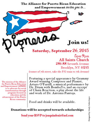 2015 Pioneras! APREE's First Event