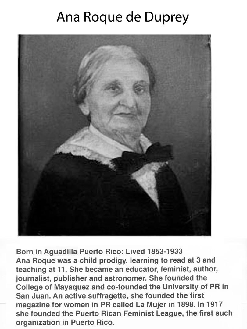 Ana Roque de Duprey