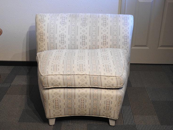 Vintage Armless Chair Set