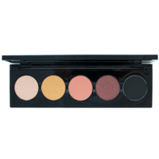 5 Shade Palette for Smokey Eye Shadow