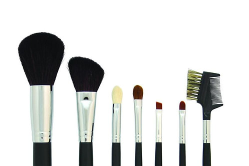 7 Piece Make Up Brushes