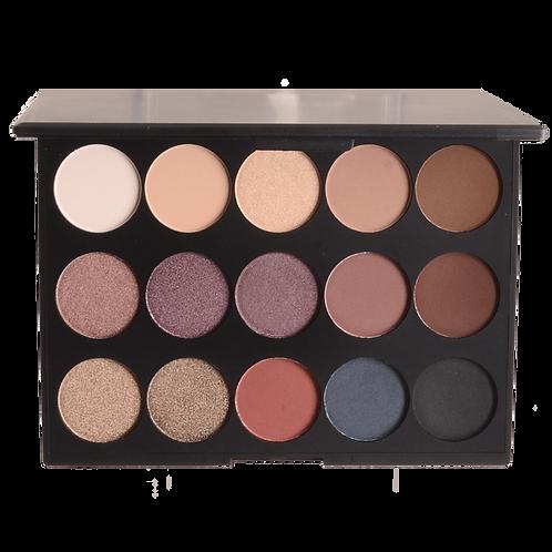 15 Shades Eye Shadow Palette
