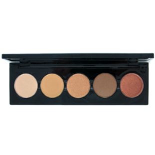 5 Shade Palette of Browns Eye Shadow