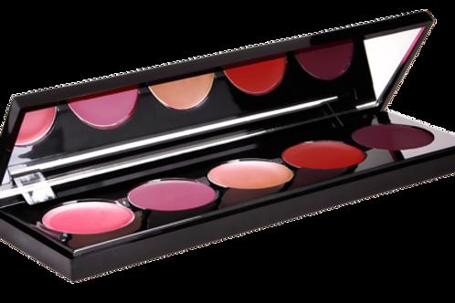 Berry Lipstick Palette 5 Shades