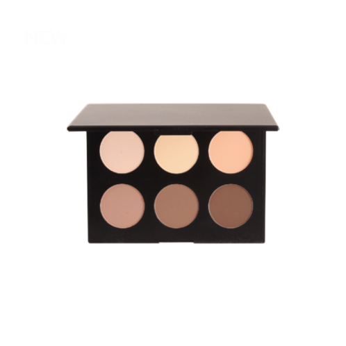 6 Shade Contour and Highlighting Palette