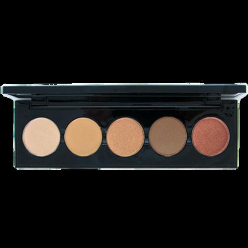 5 Shade Eye Shadow Palette (Browns)