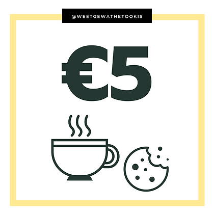 Donatie - Ter waarde van een koffietje