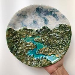 It's a plate!!!_••••_••••_••••_•••• #clay #ceramic #clayart #ceramics #ceramicart #functionalceramic