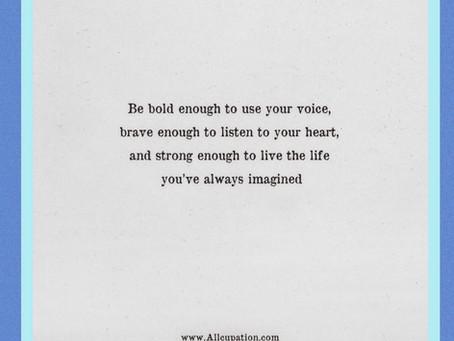 Up-level Thursday And Speak up