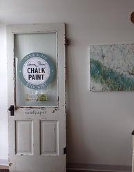 Chalk Paint® Stockist door Sandpaper Shops Schererville, Valparaiso IN