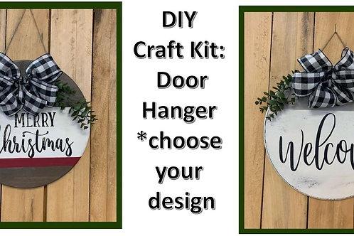 DIY Craft Kit: Door Hanger