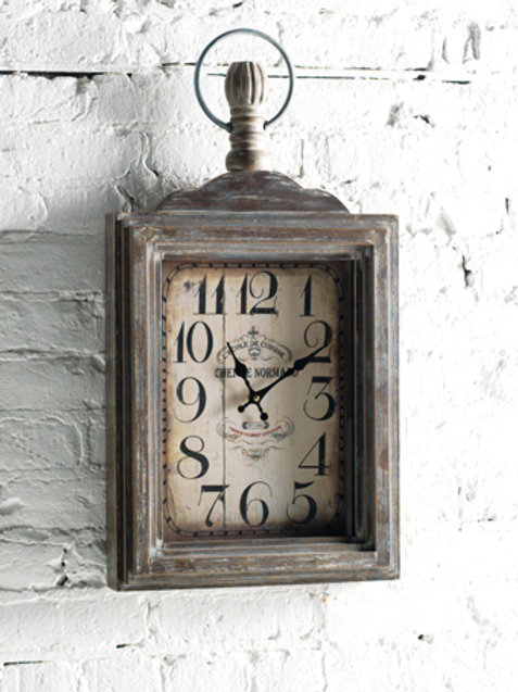 M.R. Wall Mount Clock