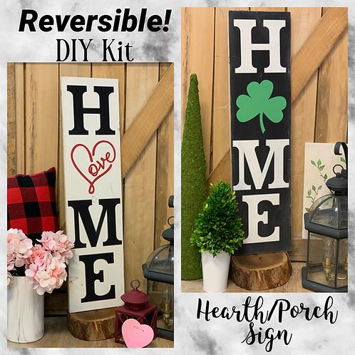 Reversible Hearth/Porch Sign DIY Kit