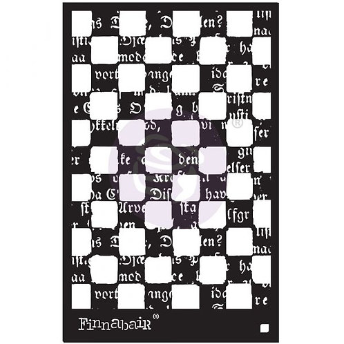 """6""""x9"""" Stencil - Mind Games"""